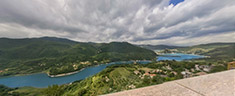 Immagine del virtual tour 'Vista del Lago Turano'